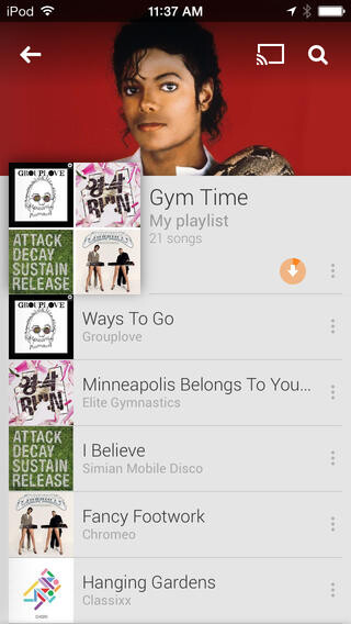 Google Play Music officially launches on iOS, lacks store but offers one month free All Access