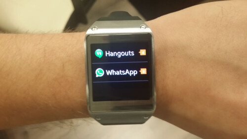 Samsung Galaxy Gear update adds rich notifications for all apps