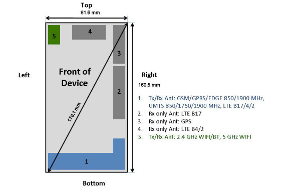 The LG G Flex has visited the FCC - LG G Flex hits FCC with connectivity to AT&T's LTE signal