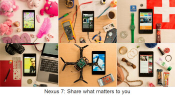 Win a Nexus 7 by showing Google #whatmatters to you