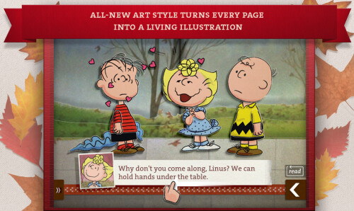 Learn about Thanksgiving from the Peanuts gang