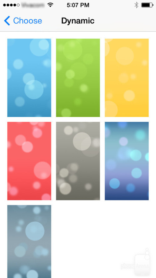 Dynamic wallpapers in iOS