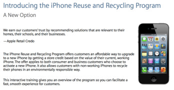 Apple will no-longer consider the liquid damage indicator when valuing a trade-in