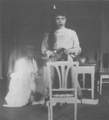 Grand Duchess Anastasia Nikolaevna self photographic portrait