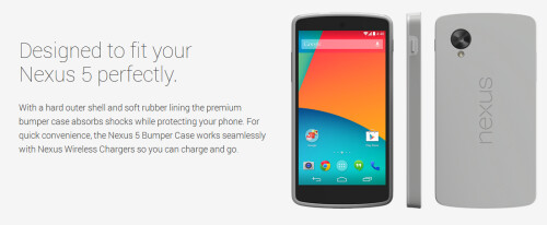 Bumper Case for the Nexus 5