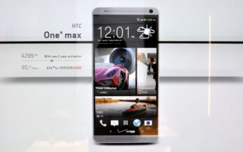 Verizon HTC One max to have max pricing at $299
