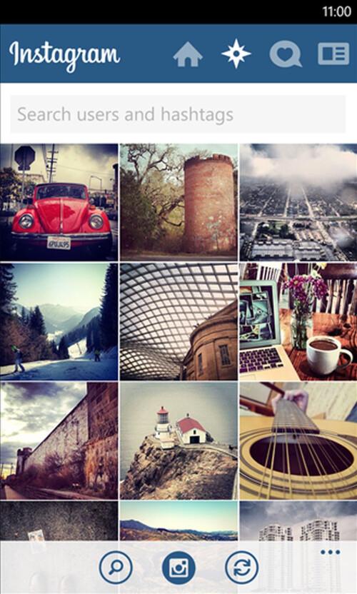 Instagram for Windows Phone