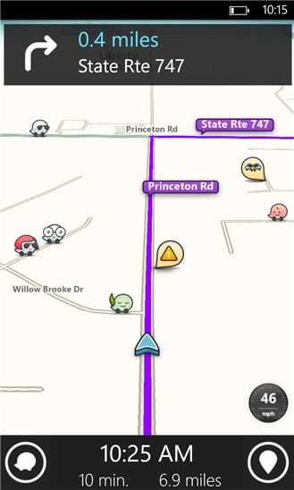 Waze for Windows Phone