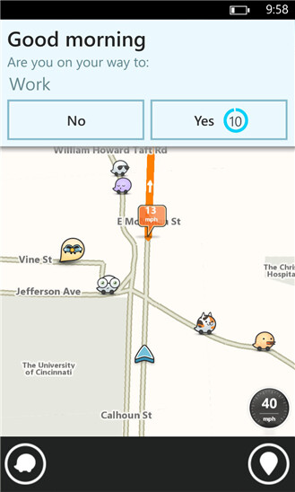 Waze for Windows Phone