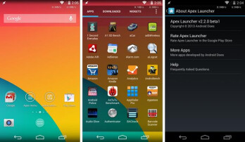 How to bring the KitKat interface to any Android with Apex Launcher 2.2, transparency included