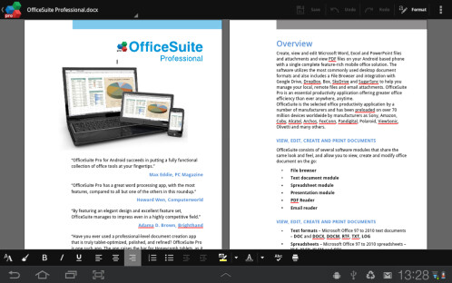 Android: OfficeSuite Professional 7: $5 (Reg. $15)