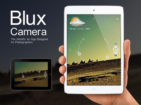 iPad: Blux Camera for iPad: FREE (Reg. $1)