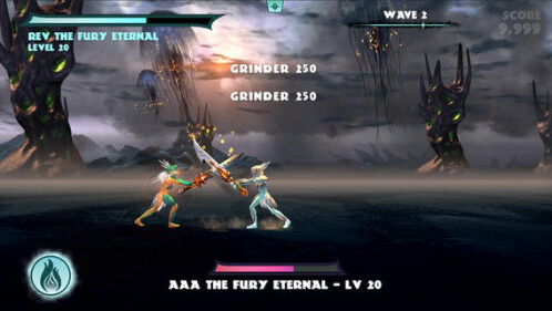 iOS Universal: God of Blades: $1 (Reg. $3)
