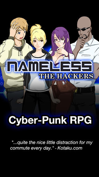 iPhone: Nameless: the Hackers RPG: $2 (Reg. $5)