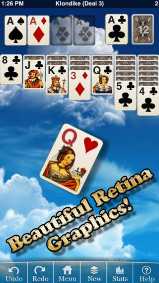 iOS Universal: Eric Snider's Solitaire: Klondike: $1 (Reg. $2)