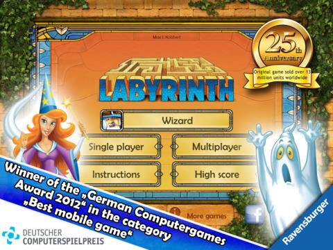 iPad: THE aMAZEing Labyrinth HD: $3 (Reg. $5)
