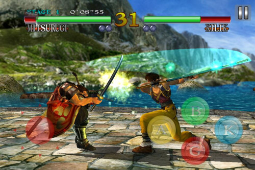 Soulcalibur lands in the Google Play Store