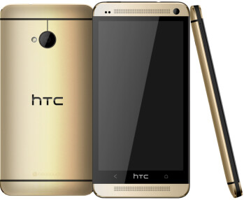 It's official: golden HTC One now a carat-free reality