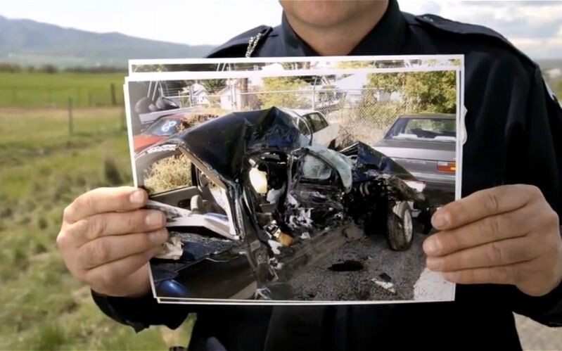 What makes these crash results seem so much worse is that distracted driving pretty much means there is no ability to react to avert the collision - meaning, no braking or corrective steering, resulting in full speed collisions - As the holiday season is about to get underway, stay safe on the road