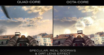 MediaTek puts octa-core chip against quad cores, shows its extra oomph in Gameloft's Modern Combat 5