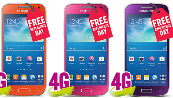 Get the Samsung Galaxy s4 mini in pink, orange or purple from Carphone Warehouse