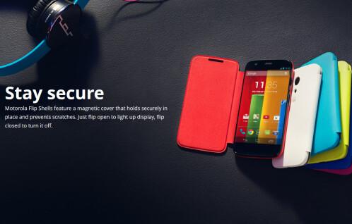 Motorola Moto G Flip Shell