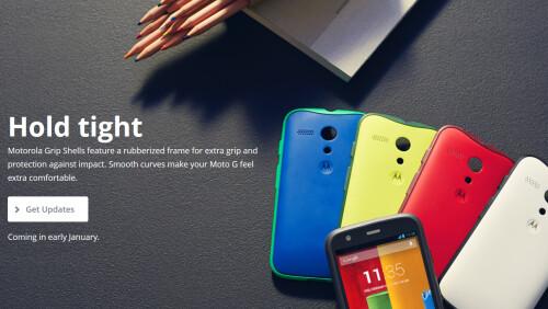 Motorola Moto G Grip Shell