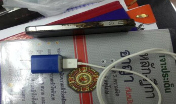 This Apple iPhone 4s and third party charger are allegedly to blame for the electrocution death of a Thai man