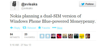 Nokia said to be working on a dual-SIM Windows Phone