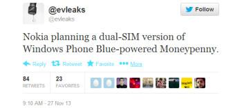 Nokia said to be working on a dual-SIM Windows Phone