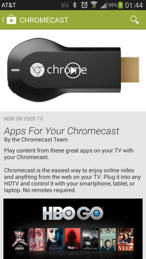 Apps for Chromecast on Google Play