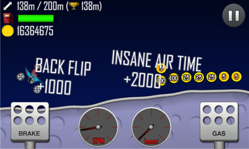 Hill Climb Racing screenshots
