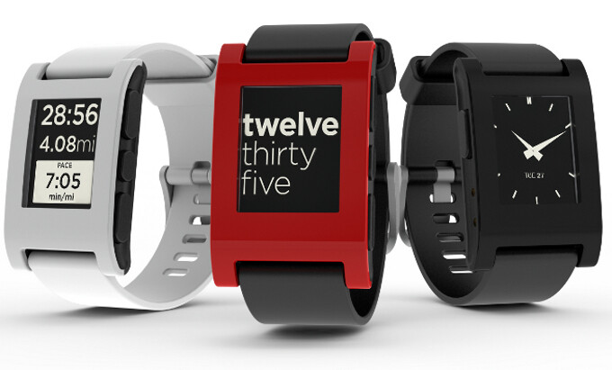 Pebble Smartwatch now available on Amazon