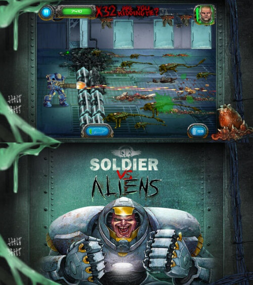 Soldier vs Aliens Free (down from $1.99)