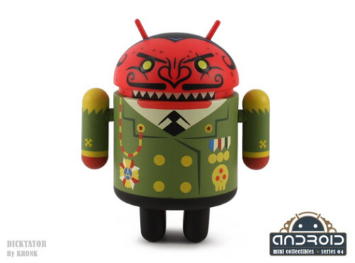 Dead Zebra's Series 04 of Android figurines are now on sale