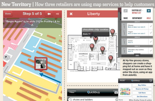 How small businesses use maps to attract business