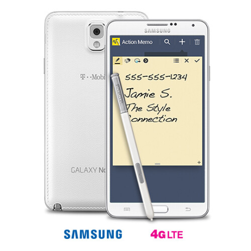 T-Mobile Samsung Galaxy Note 3 - $0 down