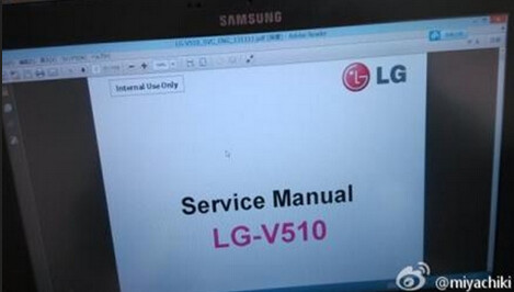 Leaked Service Manual for the LG-V51