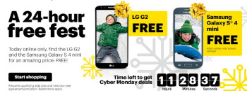 Take advantage of Sprint's Cyber Monday deals