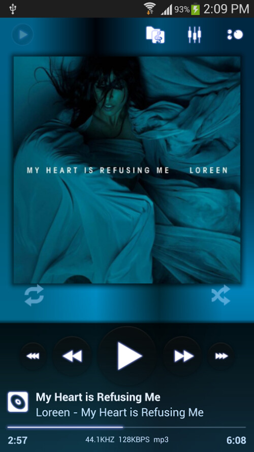 Android's most popular music player, Poweramp