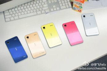 First 2K display phone Vivo Xplay 3S coming in five chassis colors, group picture suggests
