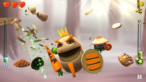 Fruit Ninja look-alike KingHunt is coming soon to iOS