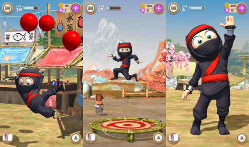 Clumsy Ninja - iOS - Free