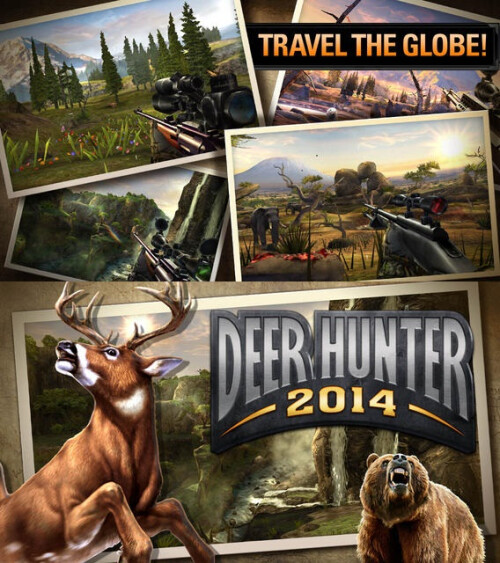 Deer Hunter 2014 - Android, iOS - Free
