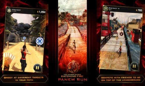 Hunger Games: Panem Run - Android, iOS - Free