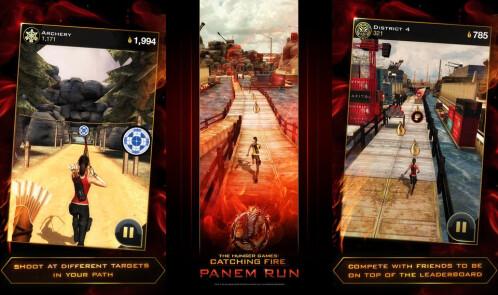Hunger Games: Panem Run - Android, iOS - Free