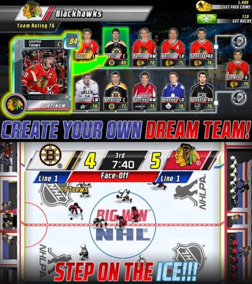 Big Win NHL Hockey - iOS - Free