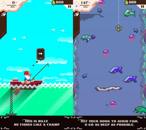 Ridiculous Fishing - Android, iOS - $2.99