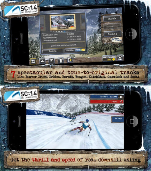 Ski Challenge 14 - Android, iOS - Free (IAP)