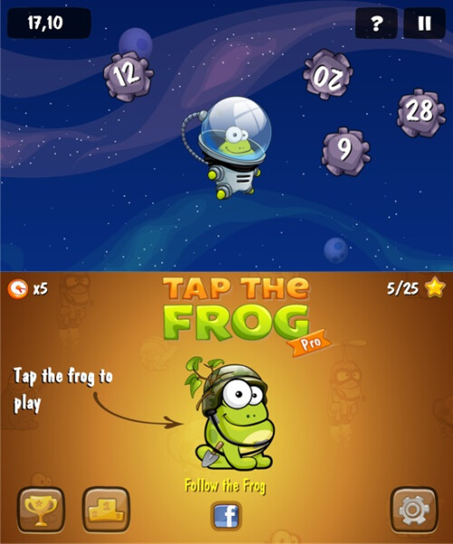 Tap The Frog - Windows Phone - Free